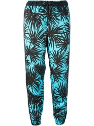 Michael Michael Kors Printed Track Trousers Blue