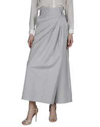 Alice San Diego Skirts Long Skirts Women Grey