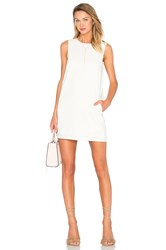 Blaque Label Shift Tank Dress White