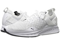 Puma Ignite Evoknit Lo White Vaporous Gray Peacoat Women's Running Shoes