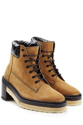 Pierre Hardy Suede Ankle Boots Brown