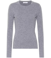 Gabriela Hearst Manoel Wool Blend Sweater Grey