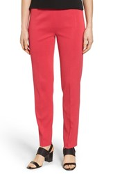 Ming Wang Women's Pull On Knit Pants Cherry