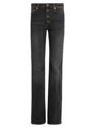 Sonia Rykiel Sailor High Rise Bootcut Jeans Black