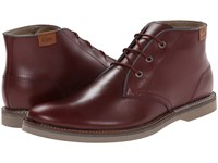 Lacoste Sherbrooke Hi 12 Dark Burgundy Men's Lace Up Boots Brown