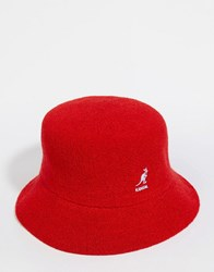 Kangol Bermuda Bucket Hat Red