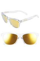 Oakley Women's Frogskins 54Mm Sunglasses Crystal Clear 24K Iridium Crystal Clear 24K Iridium