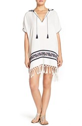 Women's Tory Burch Cotton Cover Up Tunic New Ivory Acoma