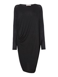 Label Lab Remley Hitch Dress Charcoal Marl