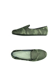 Cp Charles Philip Shanghai Moccasins Military Green