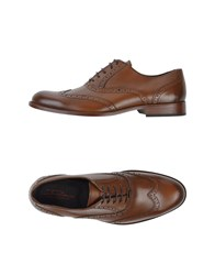 Dama Lace Up Shoes Brown