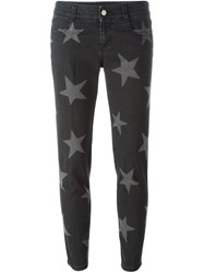 Stella Mccartney 'Skinny Boyfriend' Star Print Jeans Black