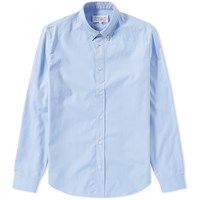 Maison Martin Margiela 14 Button Down Oxford Collar Shirt Blue