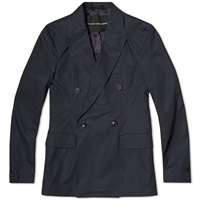 Our Legacy Double Breasted Blazer Navy Top Cotton