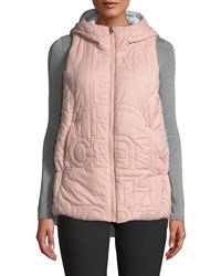 The North Face Alphabet City Vest W Hood Light Pink