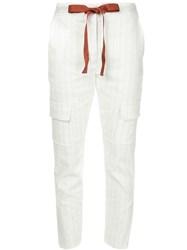Manning Cartell On Location Trousers White