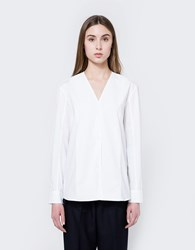 Wood Wood Debbie Shirt In Bright White