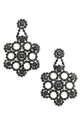 Kate Spade Women's New York 'Crystal Lace' Statement Earrings