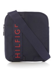 Tommy Hilfiger Large Logo Small Crossbody Bag Navy