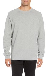 Hope Aim French Terry Raglan Sweatshirt Grey Melange