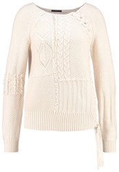 Sisley Jumper Ecru Off White