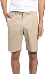 Nordstrom Big And Tall Men's Shop Smartcare Tm Flat Front Shorts Tan