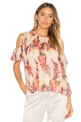 Needle And Thread Prairie Rose Top White