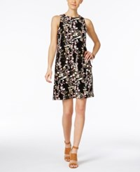 Inc International Concepts Petite Printed Shift Dress Only At Macy's Rose Bouquet