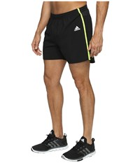 Adidas Response 5 Shorts Black Solar Yellow Men's Shorts