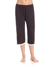 Cosabella Pima Cotton Relaxed Fit Pants Black