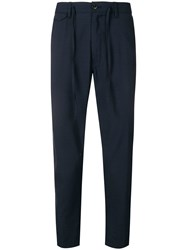 Closed Classic Tapered Trousers Blue