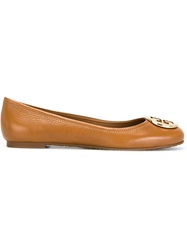 Tory Burch 'Reva' Ballerinas Brown