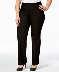 Lee Platinum Plus Size Monaco Denim Trousers Jet Black