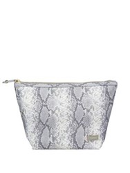 Stephanie Johnson Laura Snake Print Large Cosmetic Bag
