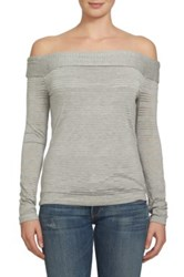 1.State Off The Shoulder Shirt