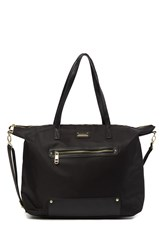 Madden Girl Overnighter Tote Bag Black