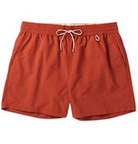 Loro Piana Mid Length Swim Shorts Orange
