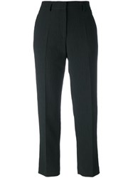 Christian Wijnants Pleated Trousers Women Cotton Linen Flax Polyamide Viscose 44 Black