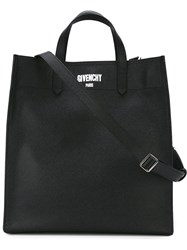 Givenchy 'Paris' Shopper Tote Black