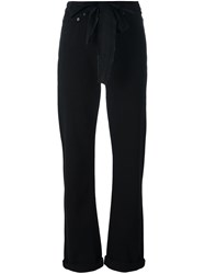 Marc Jacobs Oversized Bow Jeans Black