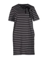 Marc By Marc Jacobs Short Dresses Grey