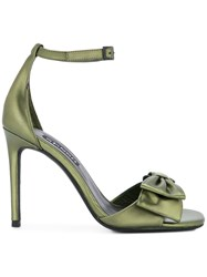 Senso Ursa Bow Sandals Green