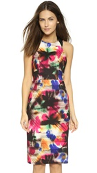 Milly Graffiti Print Hayden Dress Multi