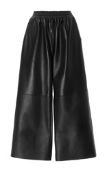 Tome Leather Culottes Black