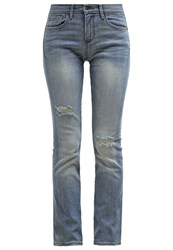 Banana Republic Straight Leg Jeans Light Wash Bleached Denim