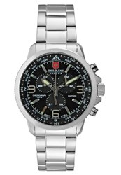 Swiss Military Hanowa Champ Chronograph Watch Black