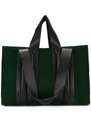 Corto Moltedo Large 'Costanza Beach Club' Tote Green