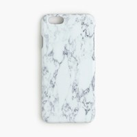 J.Crew Marble Print Case For Iphone 6 6S White