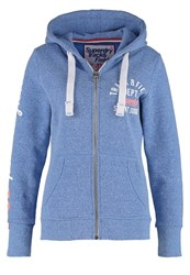 Superdry Tracksuit Top Marina Blue Snowy
