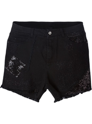 Ermanno Scervino Embellished Denim Shorts